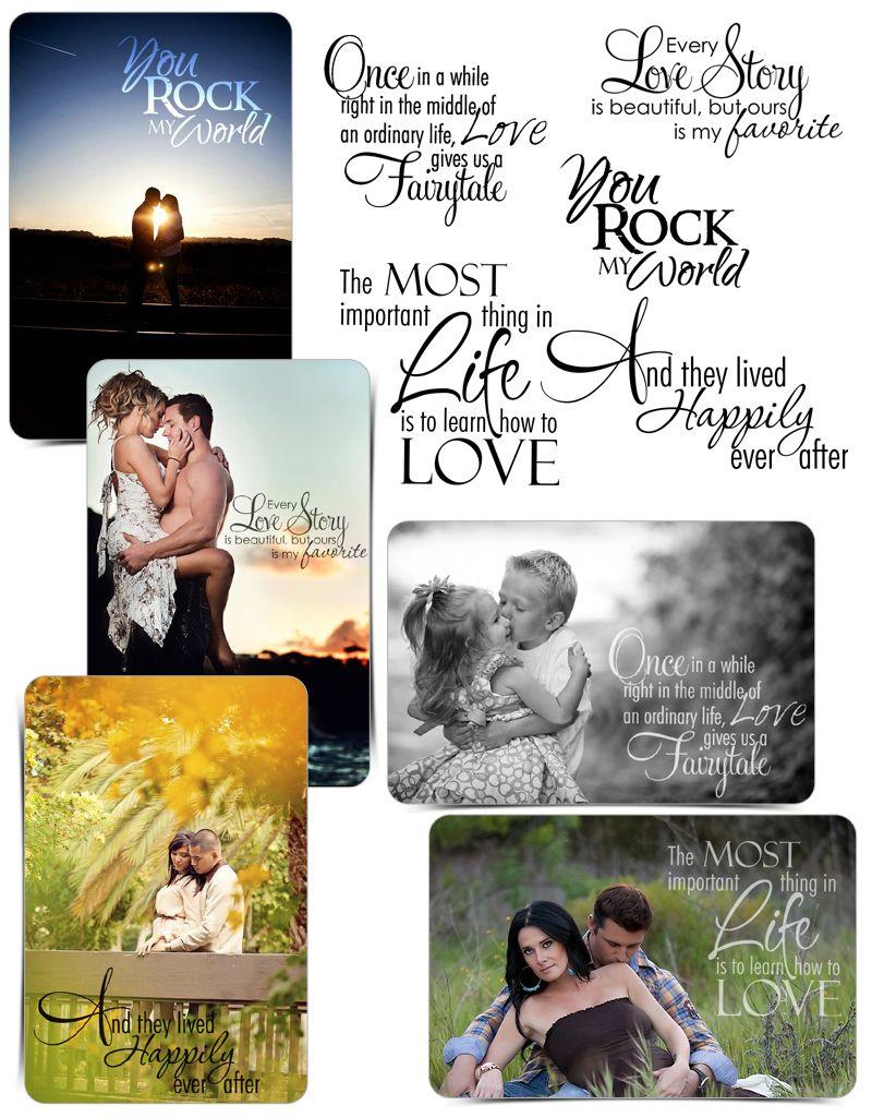 Word Art Designs for Photographers Ashe Design