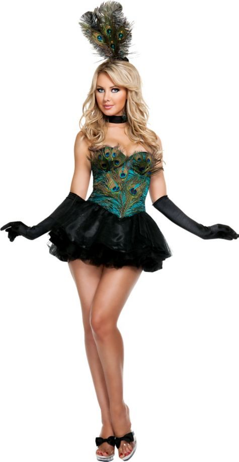 adult ravishing peacock costume party city
