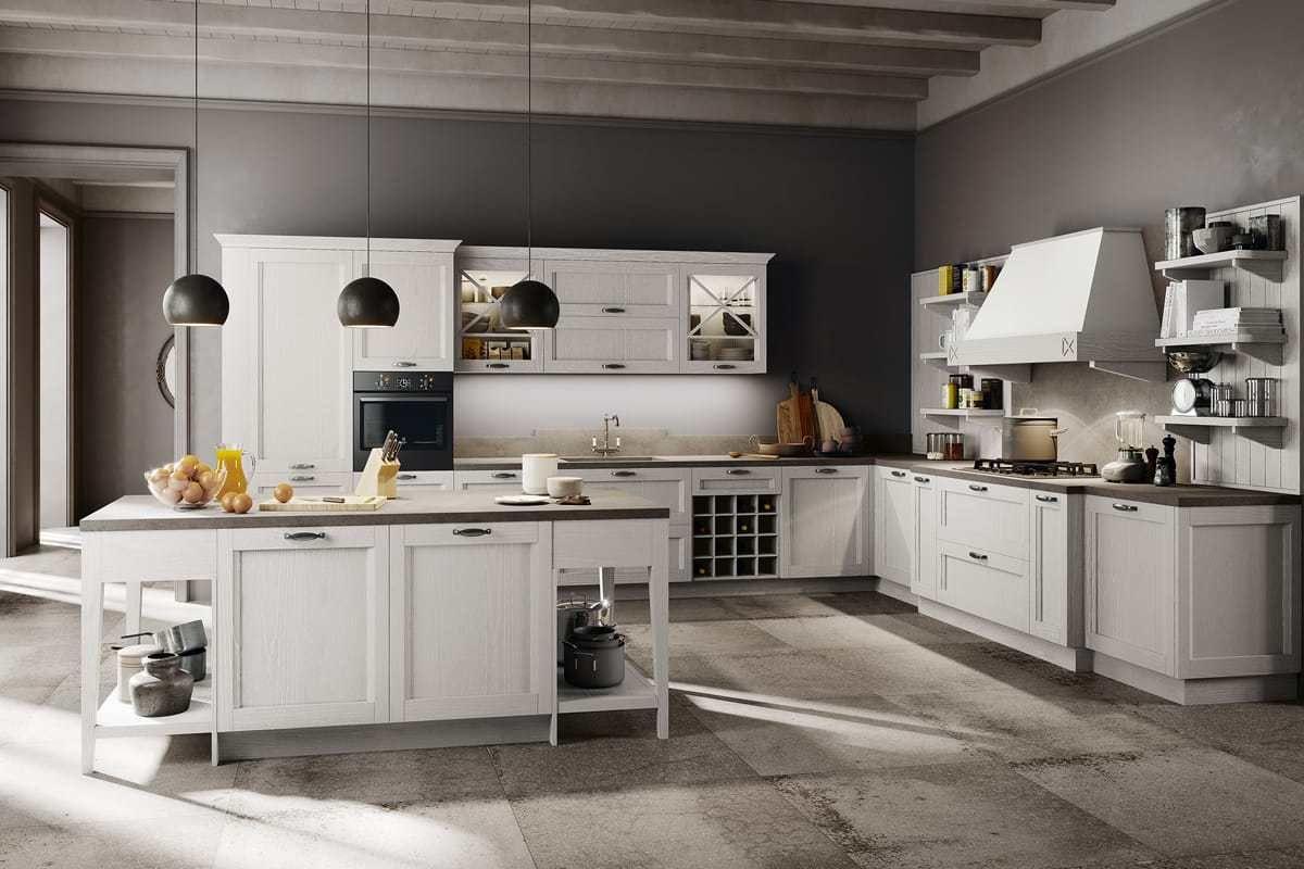 Cucina shabby chic in legno effetto decapè cucine кухня cucina