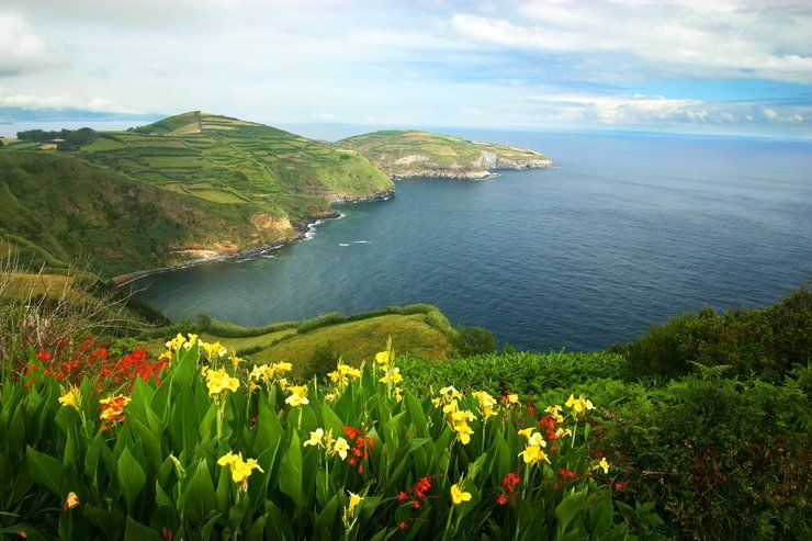 Azory Portugalskie Wyspy Najbardziej Zielone Na Swiecie Otrzymaly Nagrode Platinum Quality Coast Award Nazwa Azory Azores San Miguel Island Sao Miguel