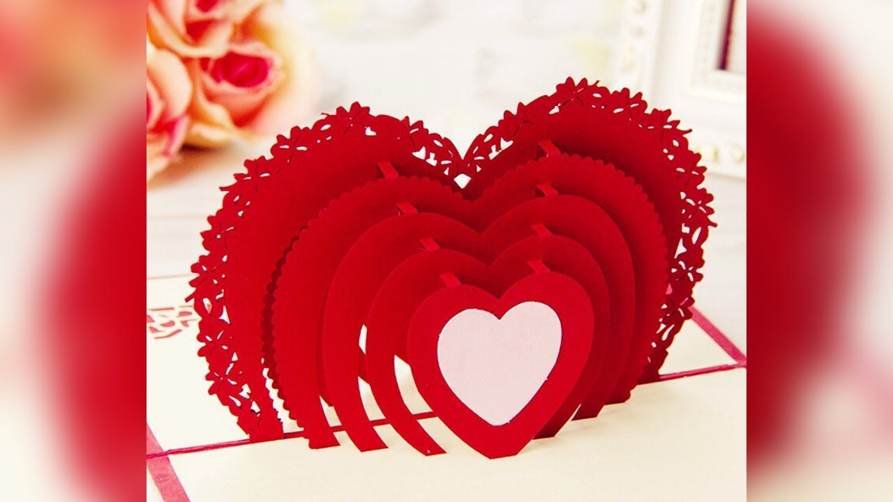 Best 3d Happy Valentines Day Card For Your Wife Buy Valentine S Day Ca Happy Valentines Day Card Christmas Gift Card Wedding Anniversary Greeting Cards