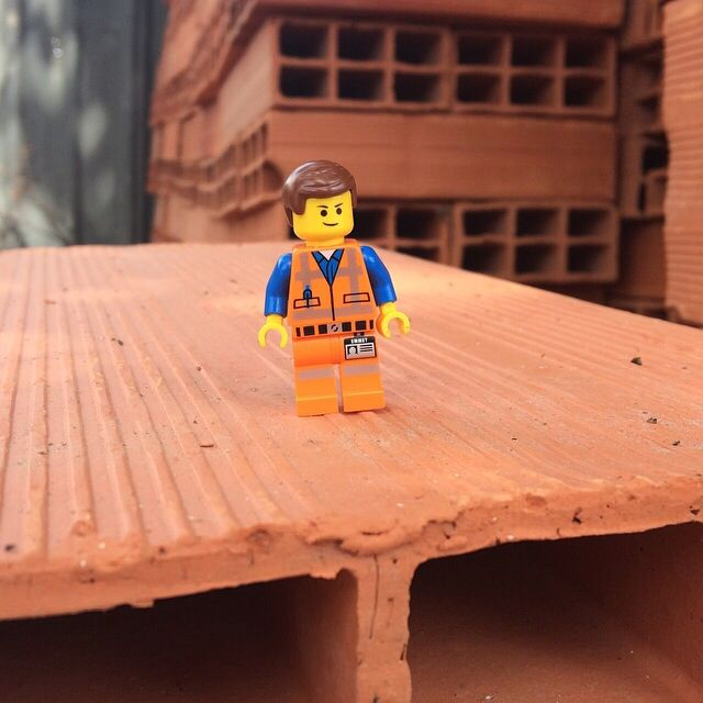 Emmet, the Master Builder!!! #legomovie #emmet #masterbuilder #bricks