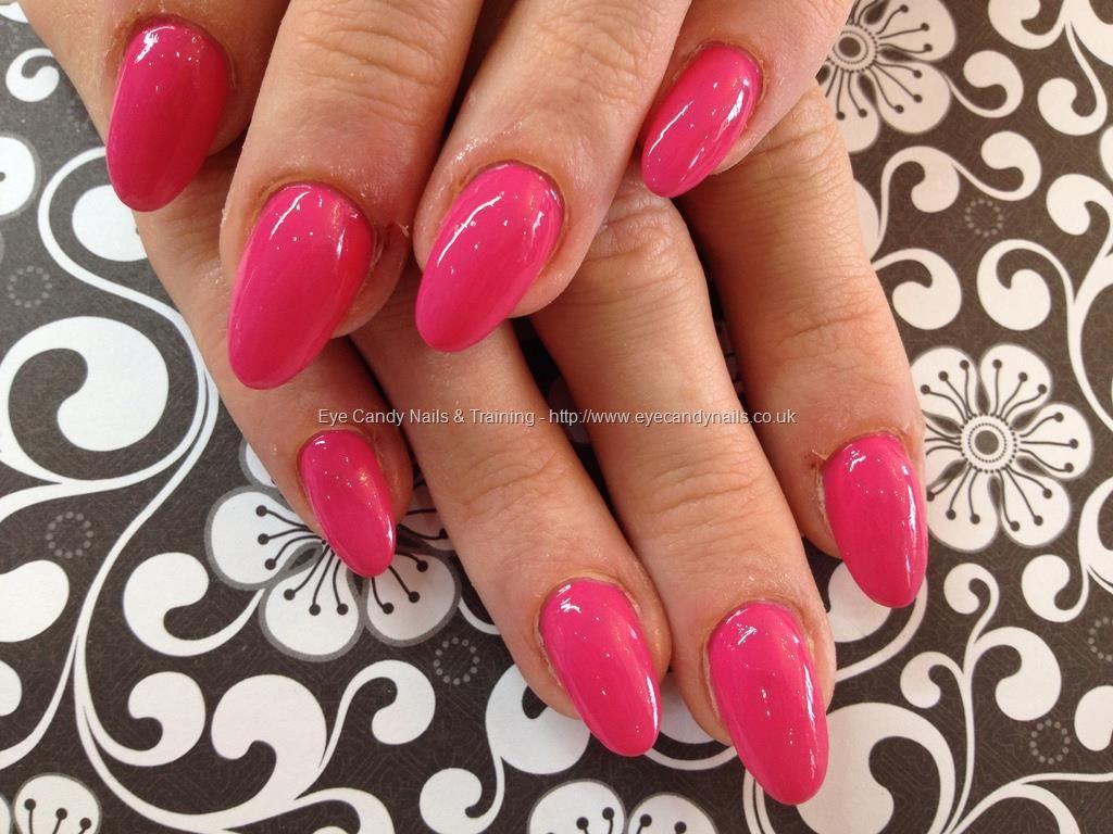 Opi pink polish over almond acrylic nails | Nails | Pinterest ...