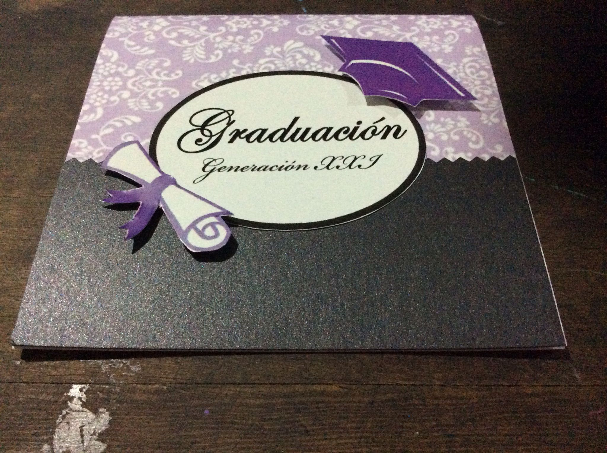 Invitación de graduación