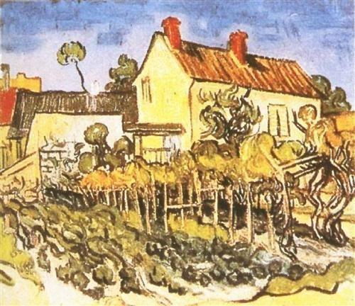 La casa de Pere Eloi Vincent van Gogh Pinterest Van gogh, Vans - Description De La Chambre De Van Gogh