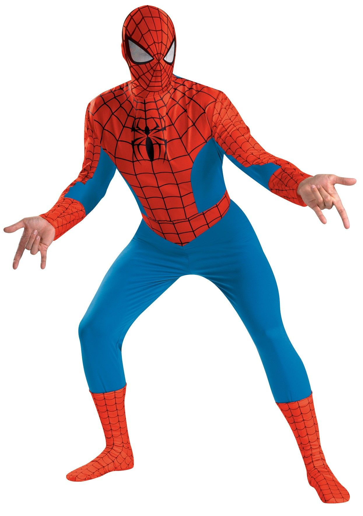 Spider-Man Deluxe Adult Costume | Costumes.com.au  sc 1 st  Pinterest & Spider-Man Deluxe Adult Costume XL | Pinterest | Spider-Man Spider ...