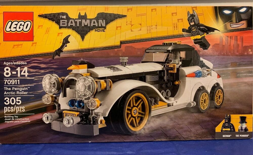 LEGO Batman Movie The Penguin Arctic Roller 70911