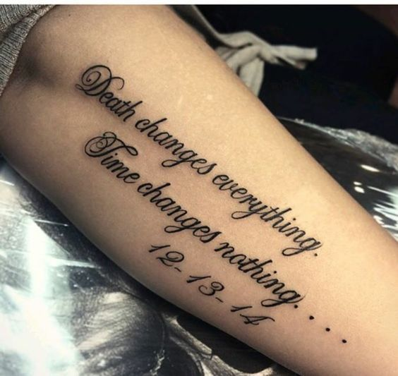 Photo of 67 Inspirierende Tattoo Zitate für Frauen – Tattoos & Piercings – #Inspirational #q …