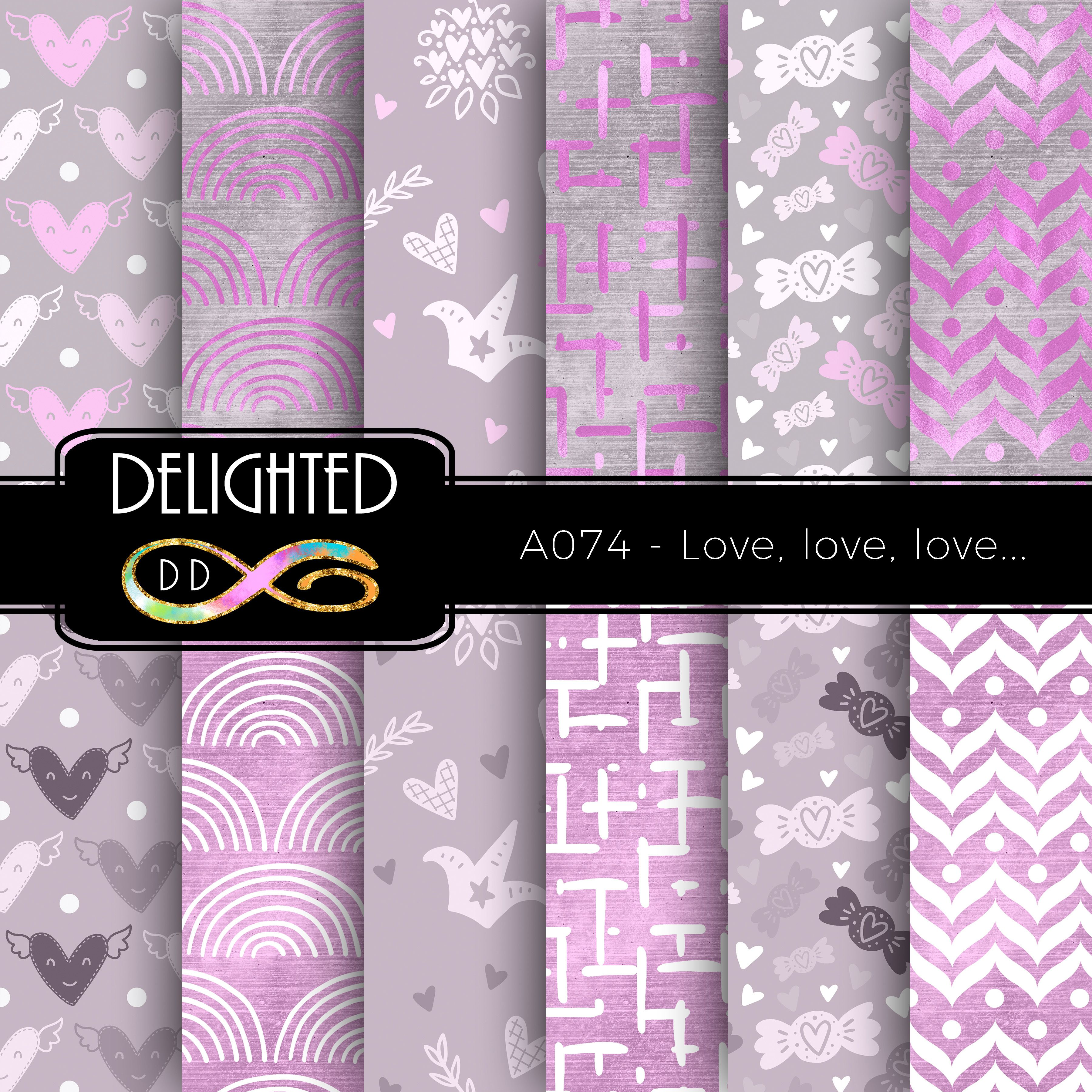 Best Buy 5 Get 40 Off Valentine Digital Papers With Commercial 400 x 300