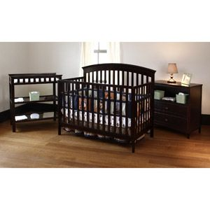 Summer Infant Fairfield Crib Changing Table And Dresser 3 Pc Set Cordovan