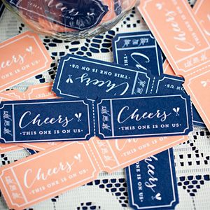 diy drink tickes free printable download reception perfection