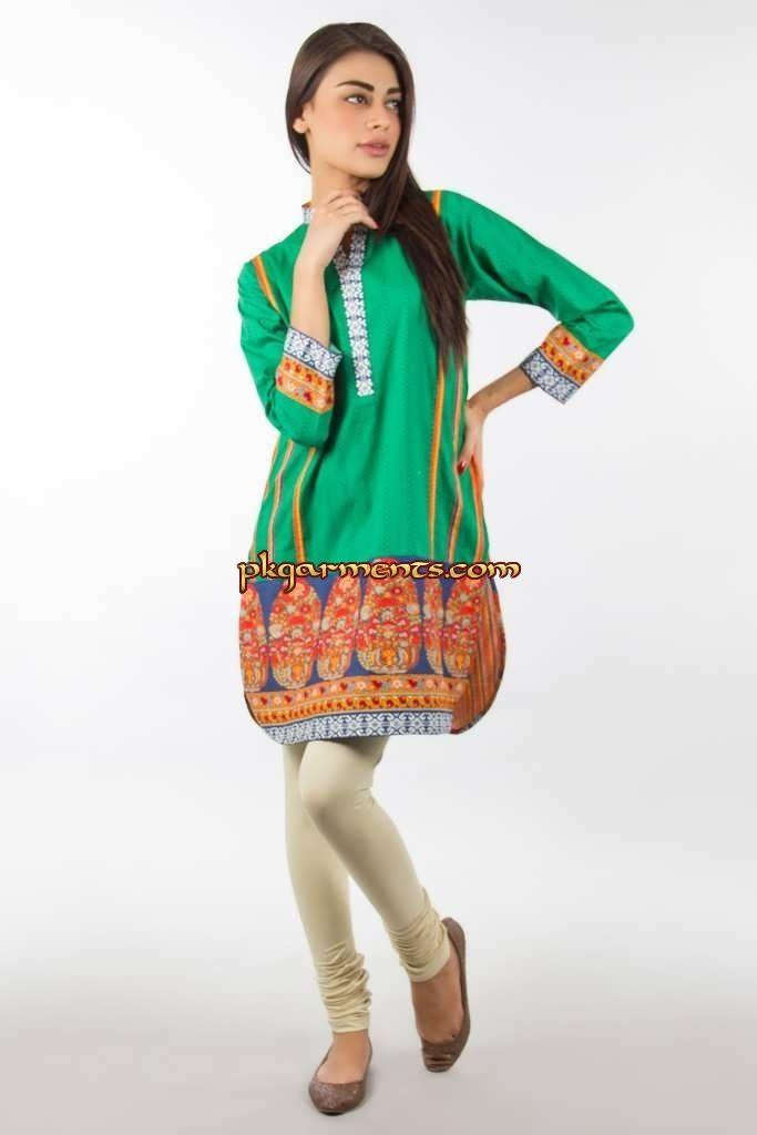 Khaadi Kurtas Dresses 2014 | Pakistani Clothes & Fashion