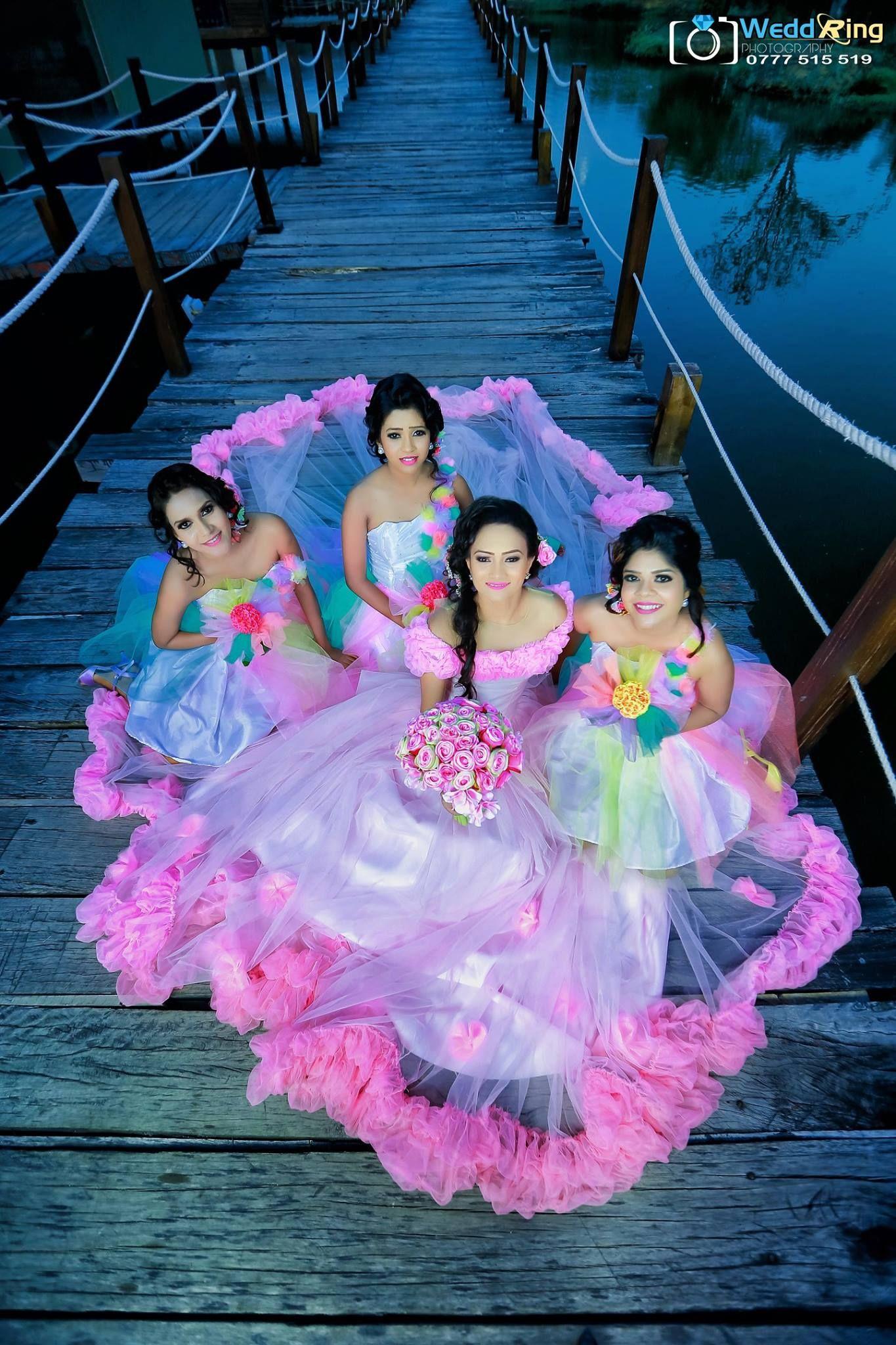 Malsha Ravihari | Sri Lankan Brides and Bridesmaids | Pinterest ...
