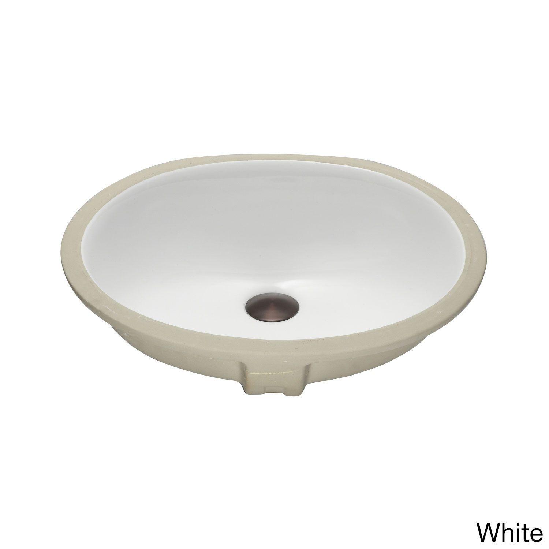 Lenova Vitreous China Clay 19 Inch X 16 Inch Bathroom Sink Beige
