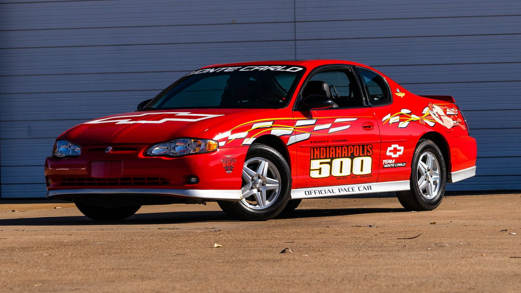 2000 Chevrolet Monte Carlo Pace Car Edition Presented As Lot U58 At Kissimmee Fl With Images Chevrolet Monte Carlo Chevrolet Kissimmee