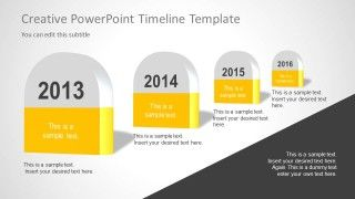 creative timeline powerpoint template for microsoft powerpoint presentations timeline powerpoint roadmap templates