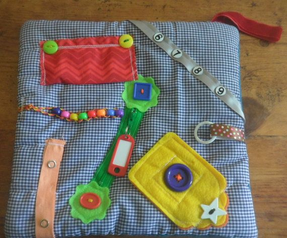 Small Fidget Quilt Sensory Blanket For By