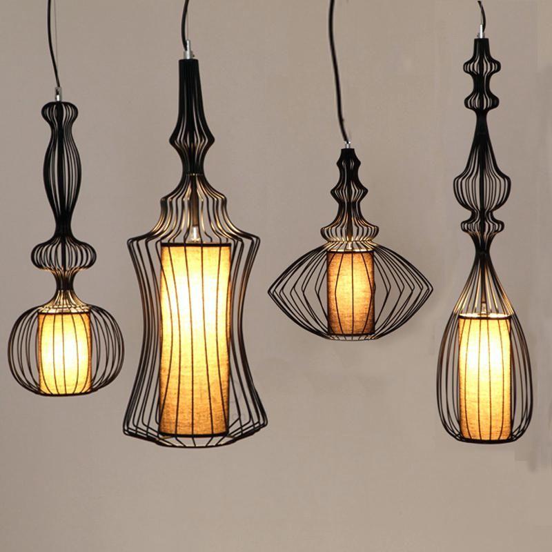 Designer Pendant Lights Lamp Black White