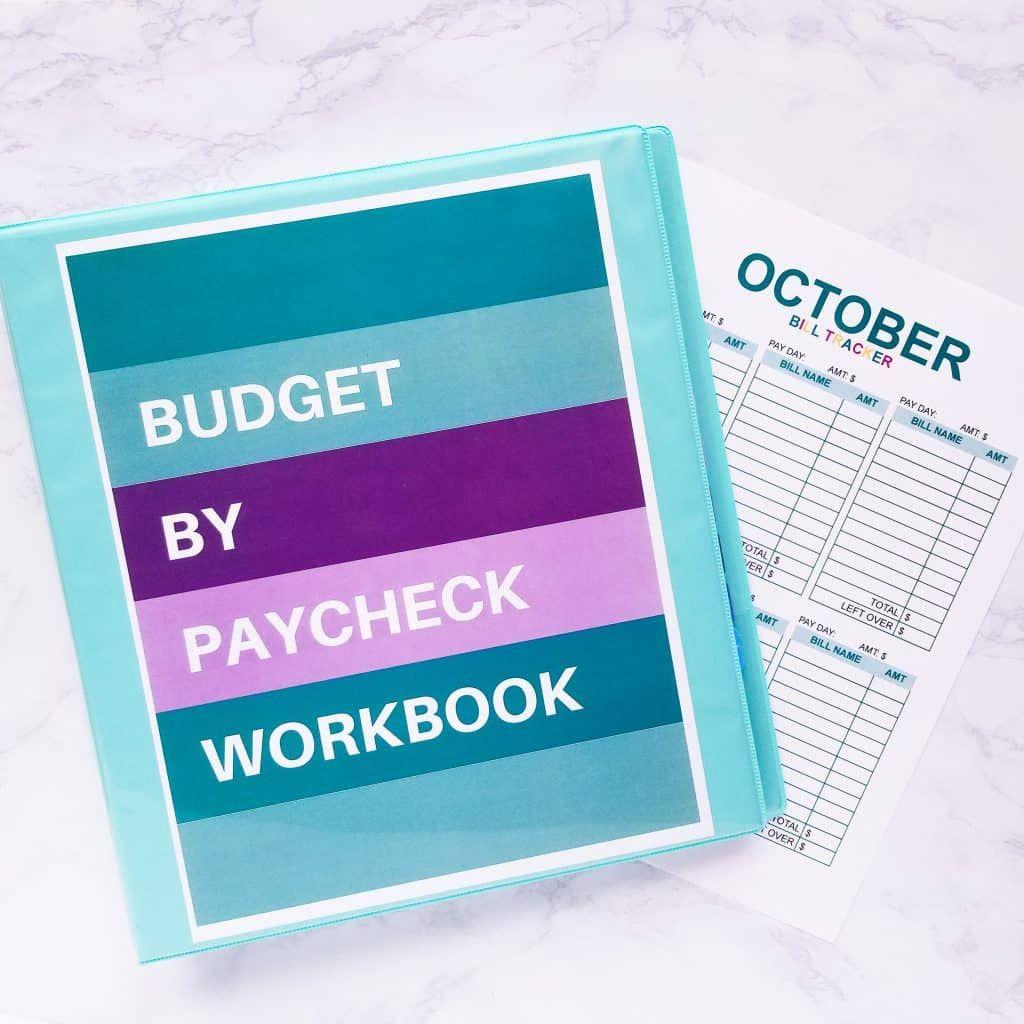 Monthly Bill Tracker Digital Download