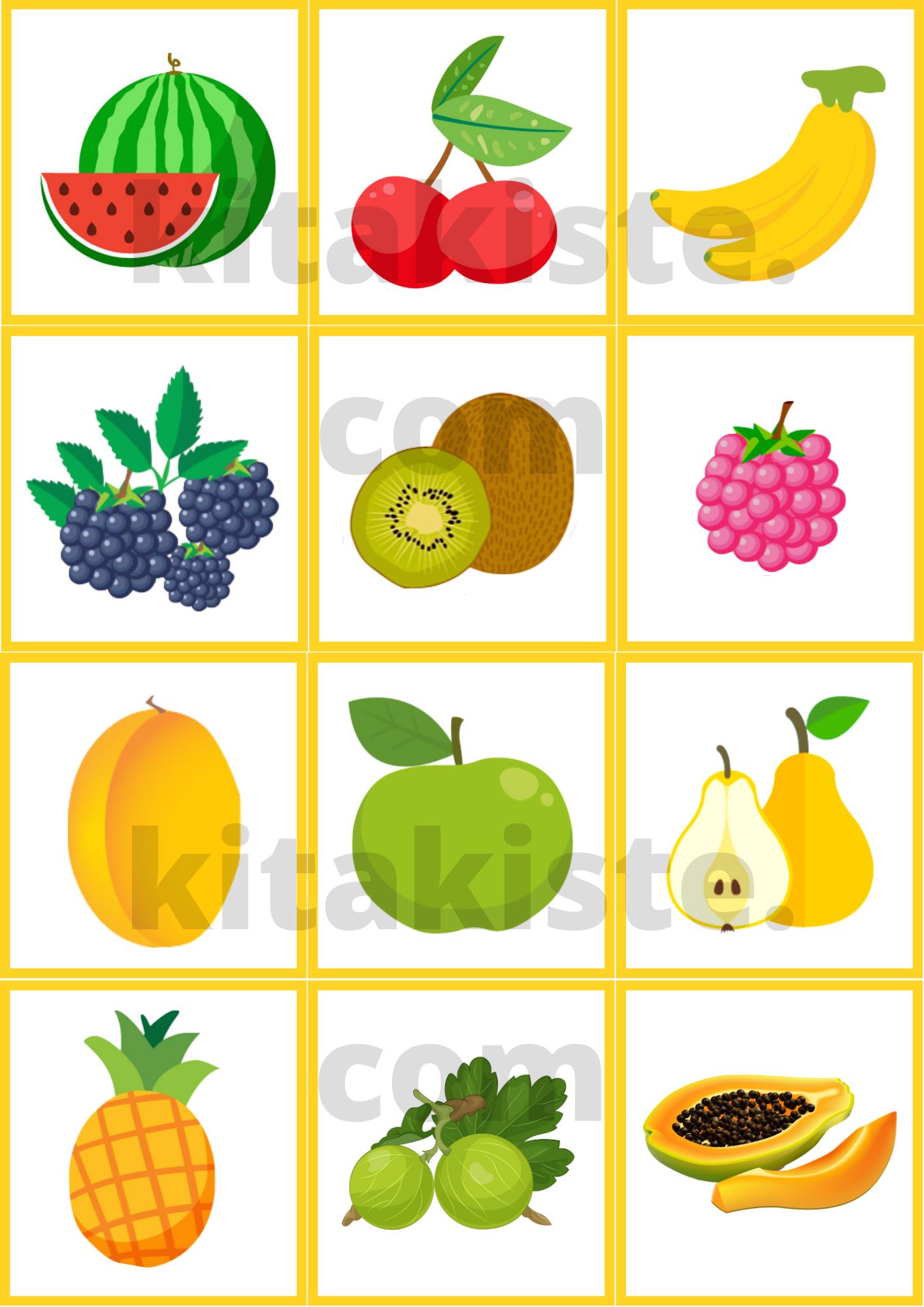 Obst Und Gemuse Memory In 2020 Kinder Lied Fruchte Und Gemuse Ausdrucken
