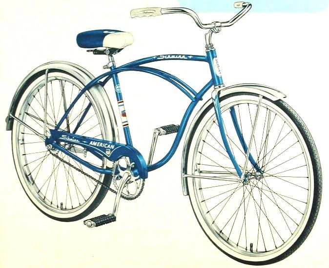 The Schwinn American 1955 To 1965 Schwinn Bike Schwinn Bicycle