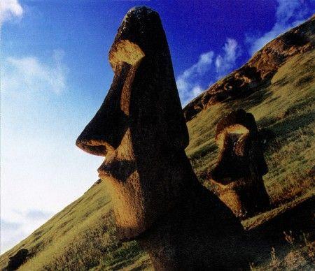 Easter Island.  High on the list.