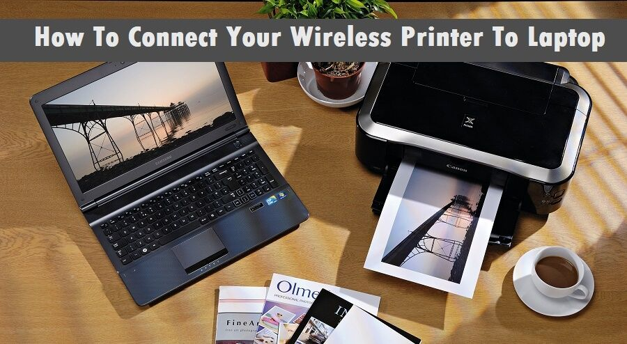 how to connect laptop to hp printer wirelessly
