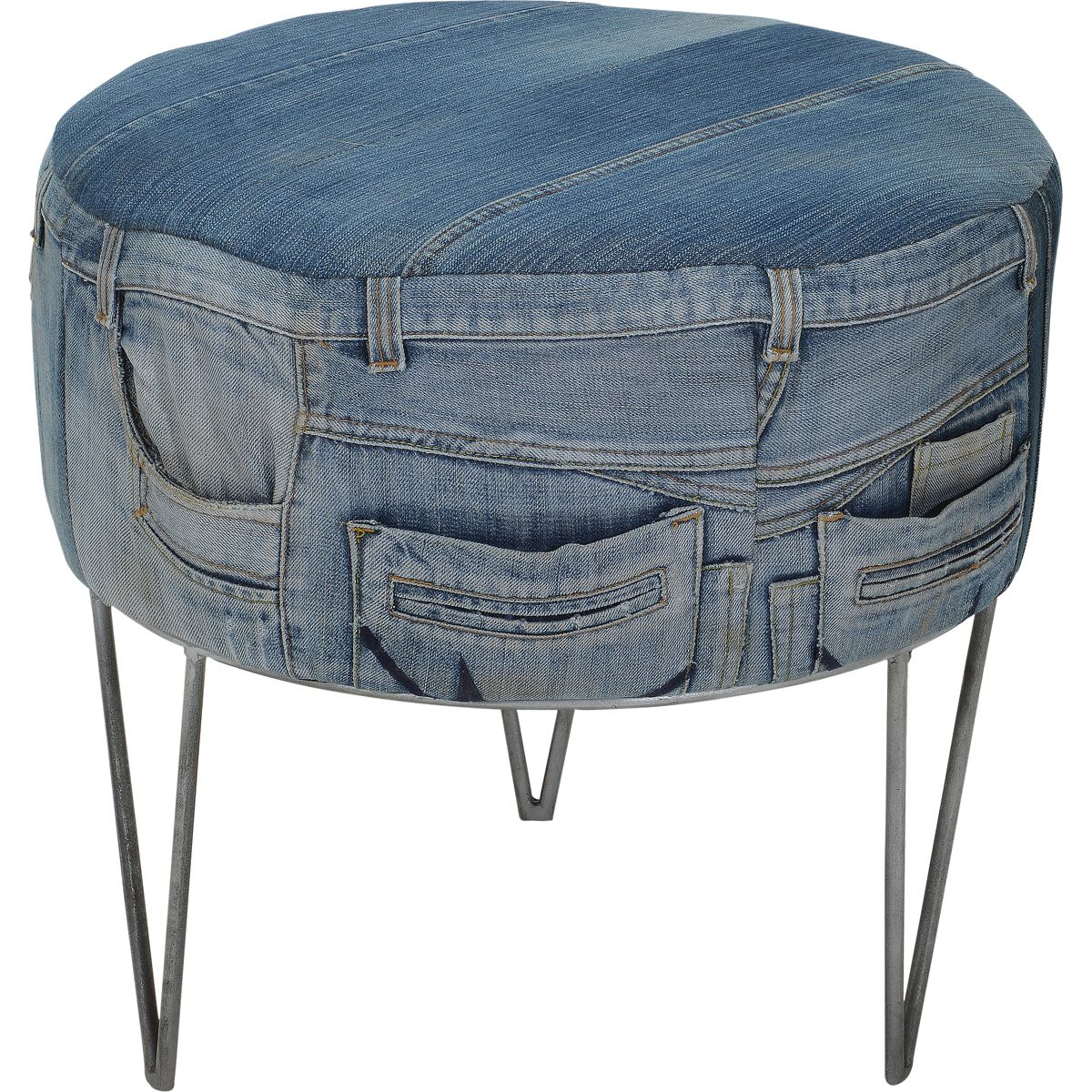 love this idea could do to any kind of footstool m bel r ume pinterest. Black Bedroom Furniture Sets. Home Design Ideas