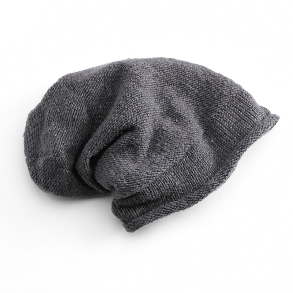 88410e54e SIJJL Knit Slouchy Wool Beanie | Products | Beanie, Knitting ...