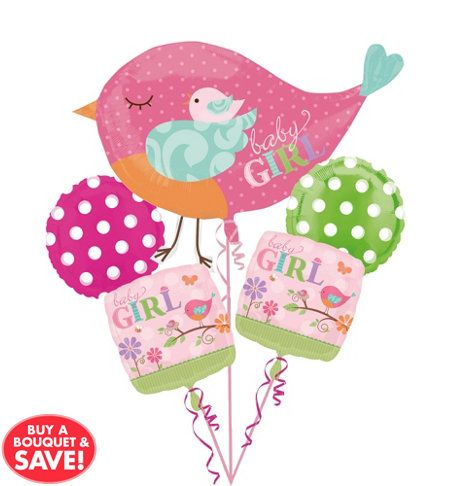 Tweet Baby Girl Baby Shower Party Supplies Party City Lets