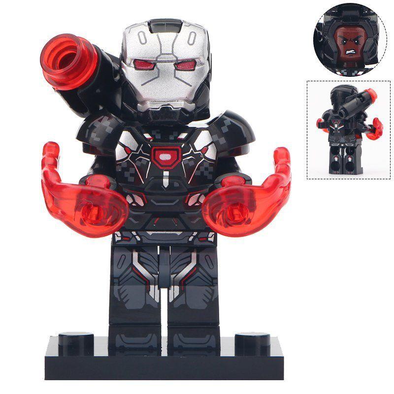 War Machine Lego Marvel Universe Moc Minifigure Gift For Kids