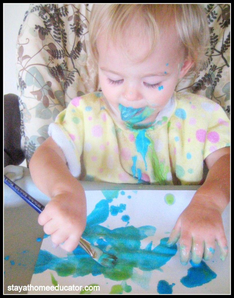 Edible Finger Paint Perfect For Baby Edible Finger Paints Babies