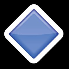 Large Blue Diamond