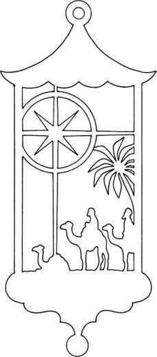 Cricut No 235 L Christmas Cr 232 Che Nativity Follow The Star