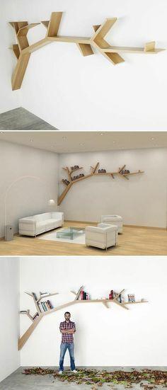 Tak Boom Voor Slaapkamer Bucherregal Design Baum Bucherregal Kreative Bucherregale