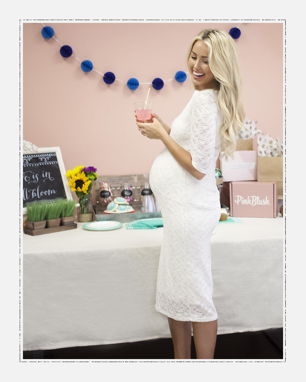 From PinkBlush Maternity | Wow At The Baby Shower