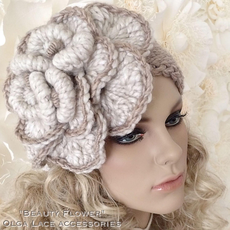 Вязание митенок Flower and Lace Cuffs