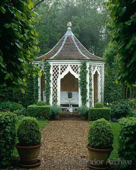 John Fowler Garden House Garten Pavillon Gartenarchitektur Garten