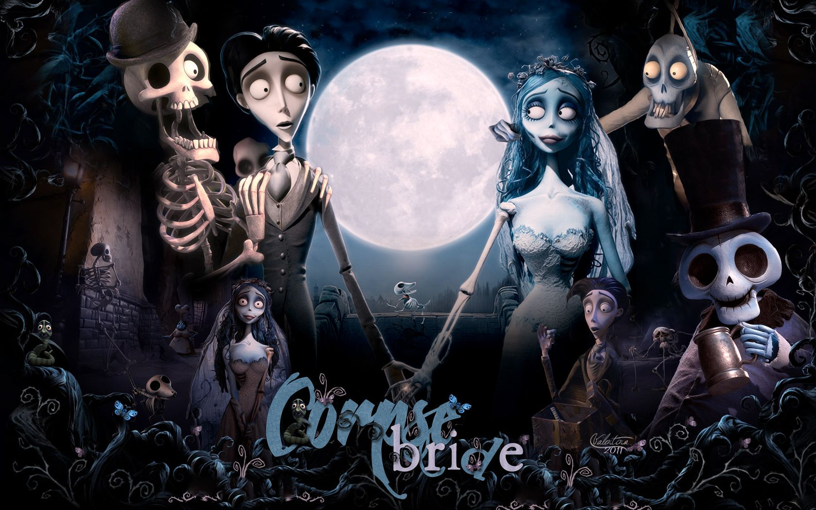 corpse bride | corpse bride - Halloween Wallpaper (26851795) - Fanpop fanclubs