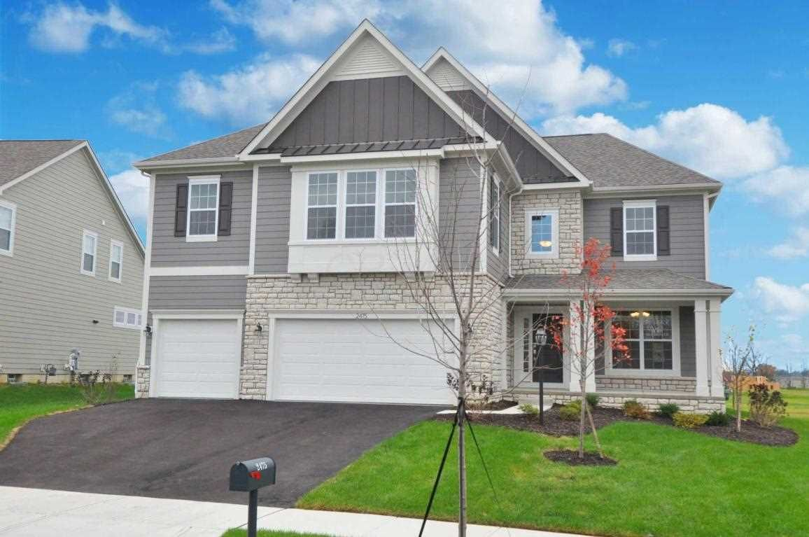 Check Out This Incredible House In The Reserve At Scioto Glenn Powell Powellhomesforsale 509 900 4 Bedrooms New Home Buyer Double Entry Doors Estate Homes