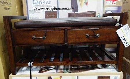Universal Furniture Greyfield Storage Bench Costco Universal