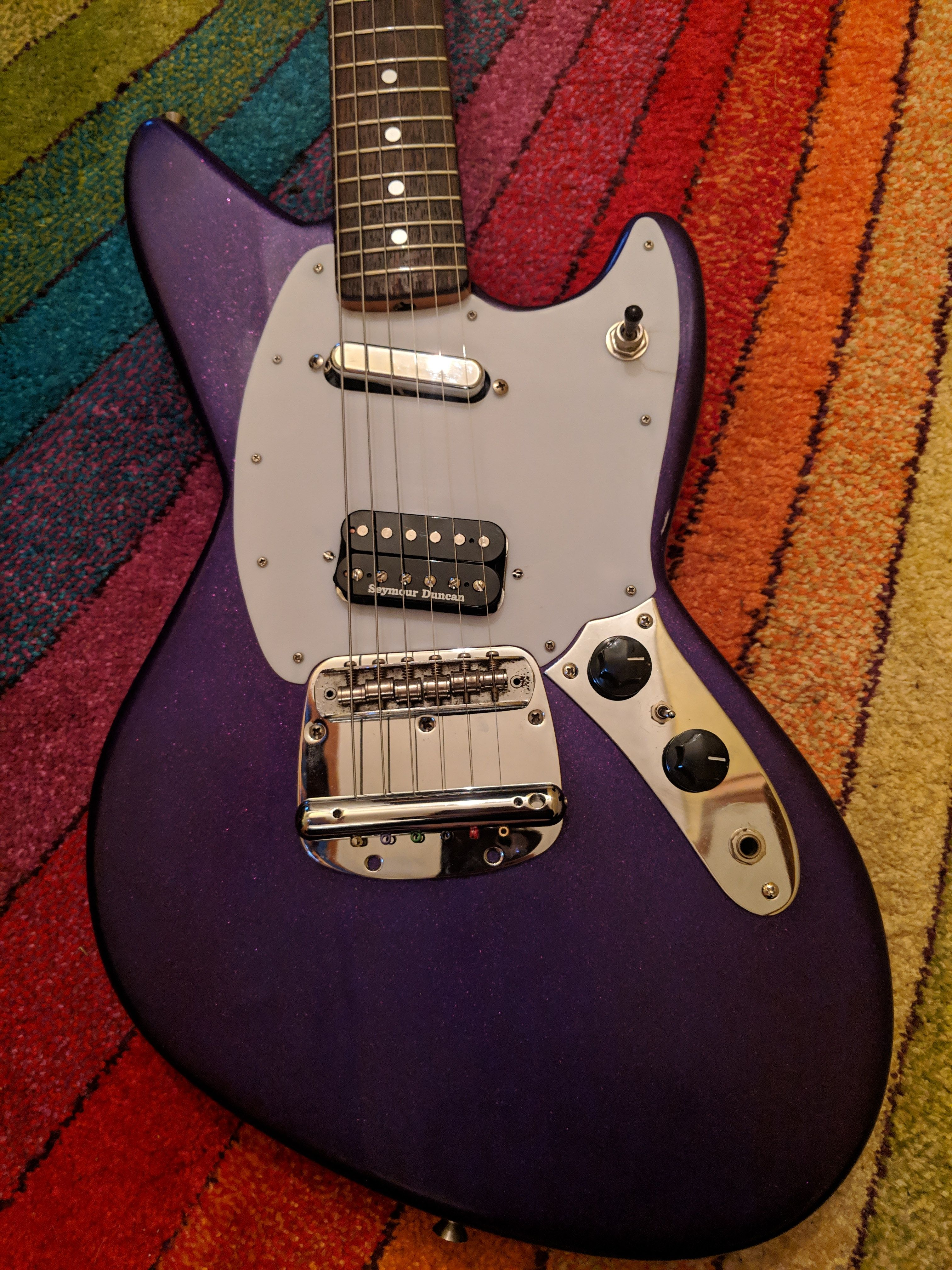 My new Fender Jagstang with a few mods done do it | Cool