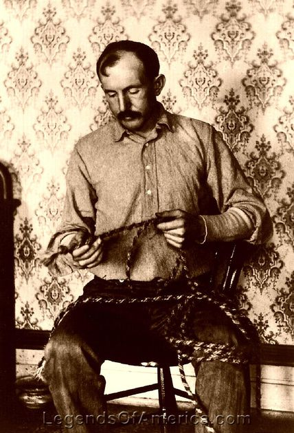 Tom Horn, lawman and outlaw, 1903