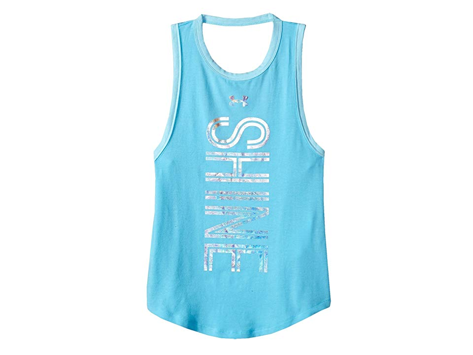 Under Armour Girls Finale Tank Sporty Vibes