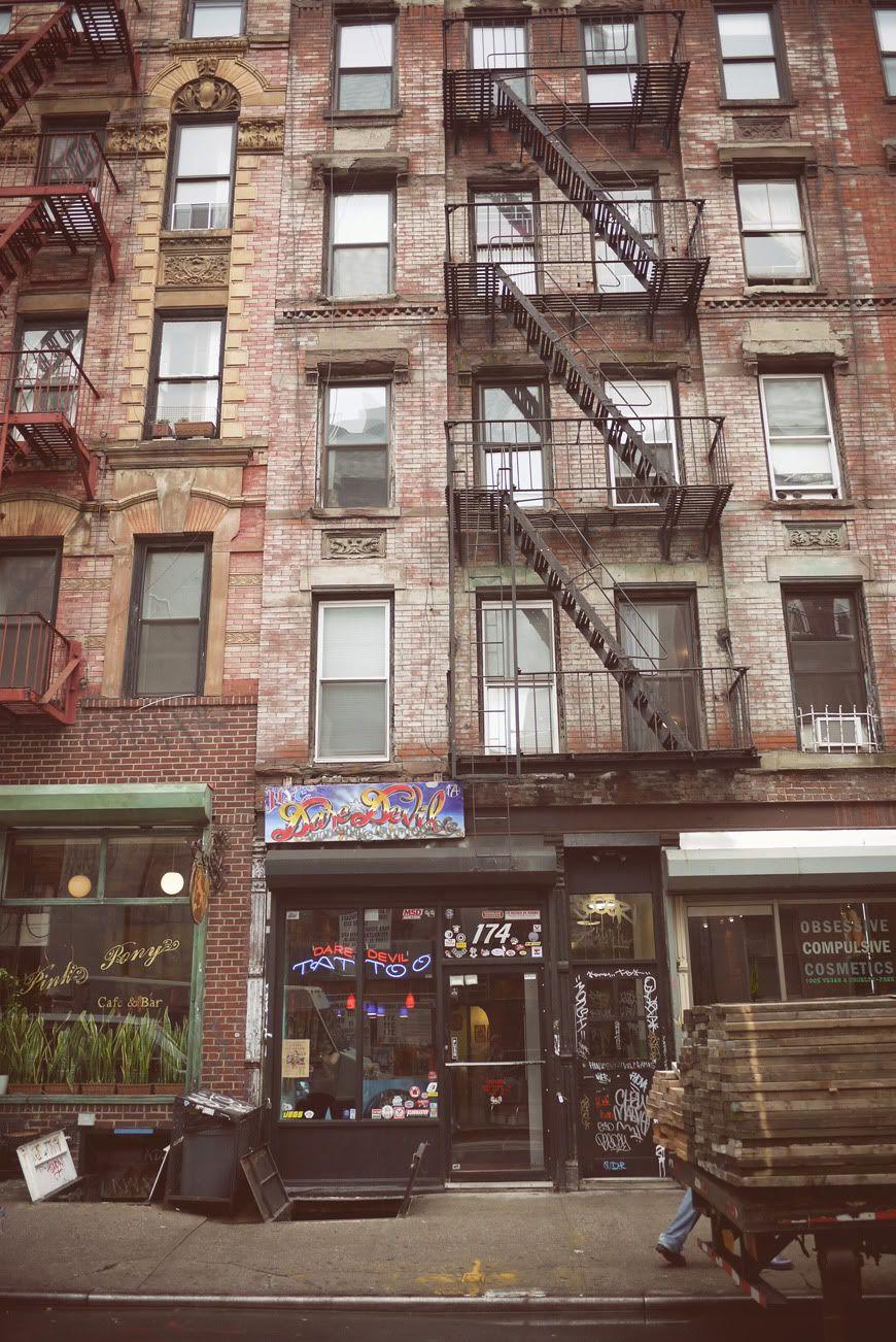 New York City East Village walk Valentine travel