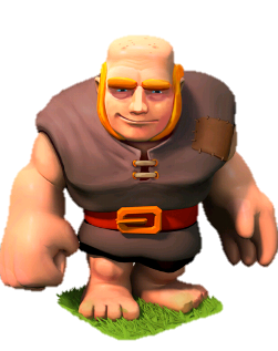 Giant Clash Of Clans Troops Clash Of Clans Clash Royale