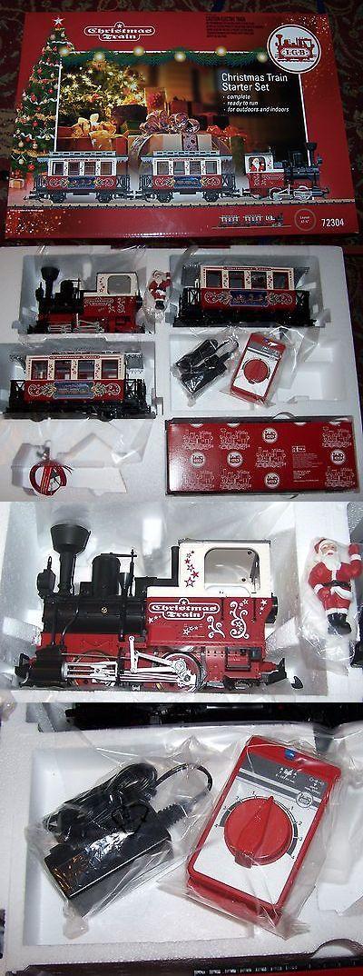 passenger cars 122575 lgb g christmas train set 72304 steel spoke wheels