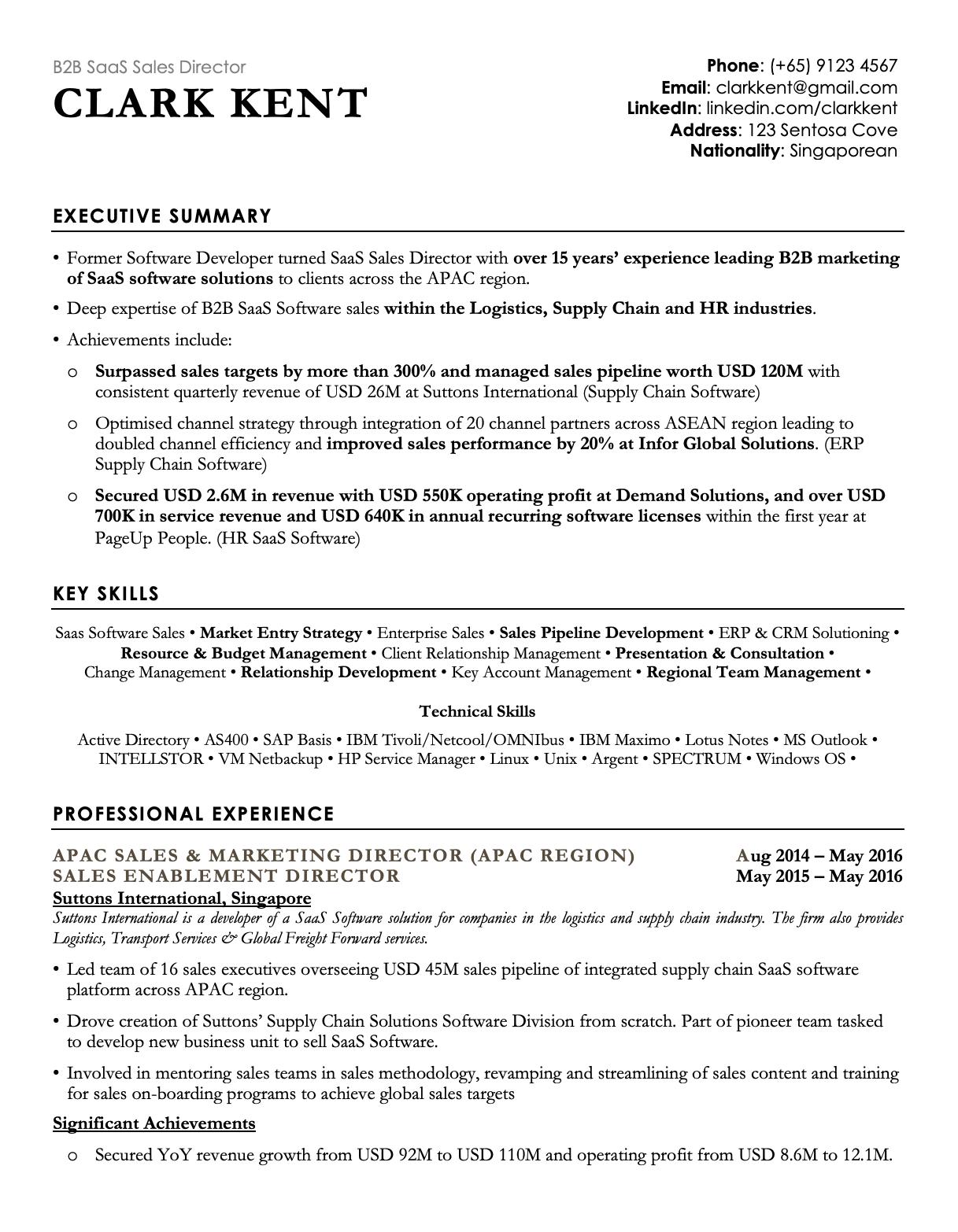 Professional Black Resume Template CV Template in 2020