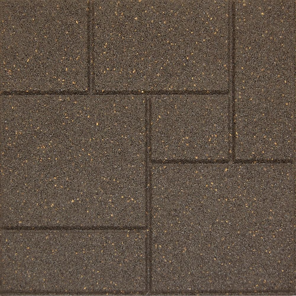 18 Inch X Reversible Erfly Envirotile Stepping Stone Earth