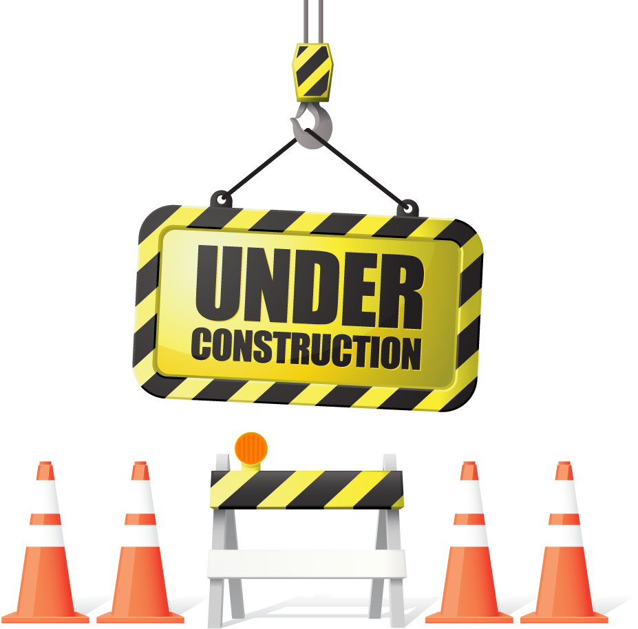 Under Construction Sign In The Center A Large Diamond Shaped Construction Sign With Work In Progress Possibly This S Engenheiro Engenheiros Civis Engenharia